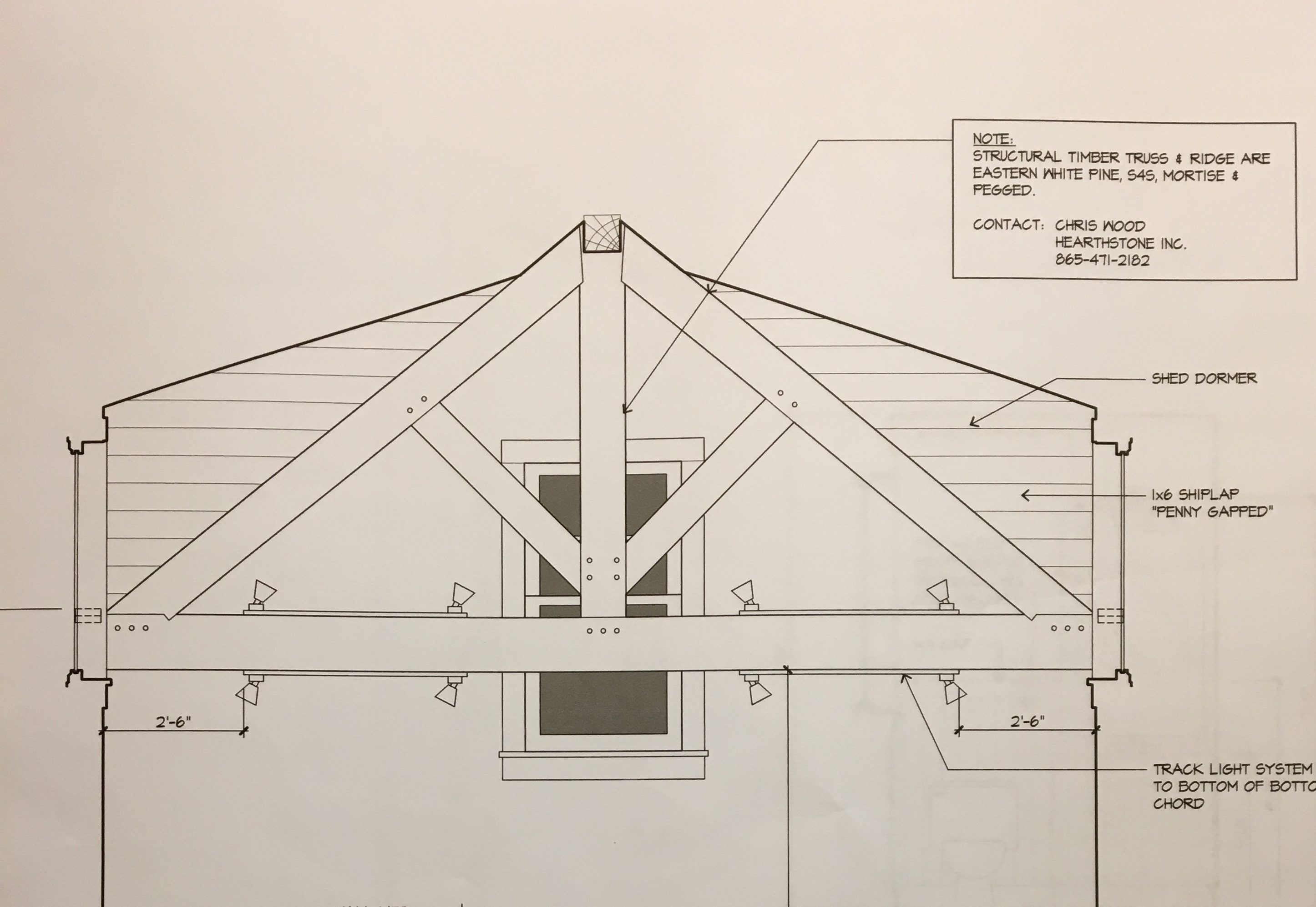 Structural Timber Trusses – Custom Riverhouse Construction Blog